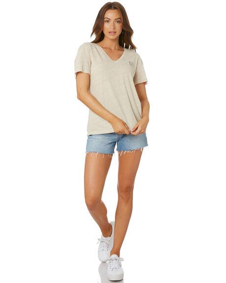 LIGHT FENNEL WOMENS CLOTHING RUSTY TEES - TTL1082LFN