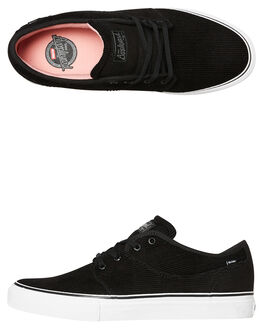 BLACK CORD MENS FOOTWEAR GLOBE SKATE SHOES - GBMAHALO10085