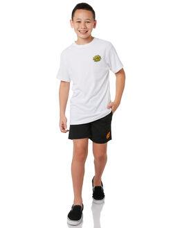 WHITE KIDS BOYS SANTA CRUZ TOPS - SC-YTA0367WHT
