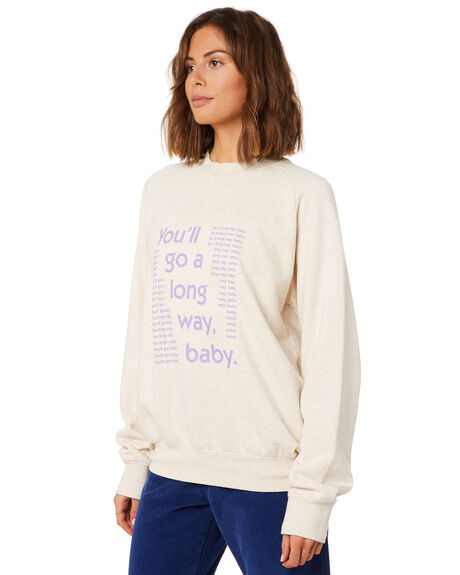 WHITE SMOKE WOMENS CLOTHING AFENDS JUMPERS - W191502WHTS