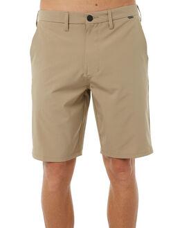KHAKI MENS CLOTHING HURLEY SHORTS - 895082235
