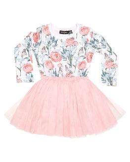 PRINT KIDS TODDLER GIRLS ROCK YOUR BABY DRESSES - TGD1860-FMPRNT