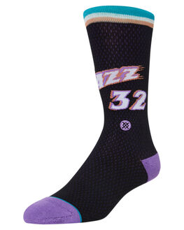 BLACK MENS CLOTHING STANCE SOCKS + UNDERWEAR - M545A19MALBLK