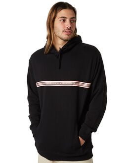 BLACK MENS CLOTHING BARNEY COOLS JUMPERS - 406-CR2BLK