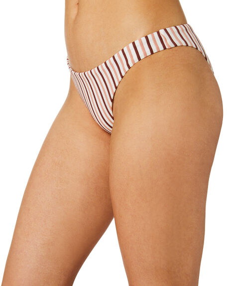 STRIPE WOMENS SWIMWEAR TIGERLILY BIKINI BOTTOMS - T395592STRP