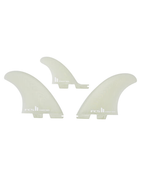 CLEAR BOARDSPORTS SURF FCS FINS - FPTX-PG02-XL-TS-RCLR