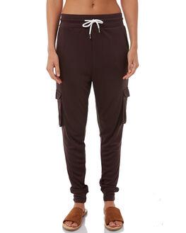 BROWN BLACK WOMENS CLOTHING SWELL PANTS - S8171191BLACK