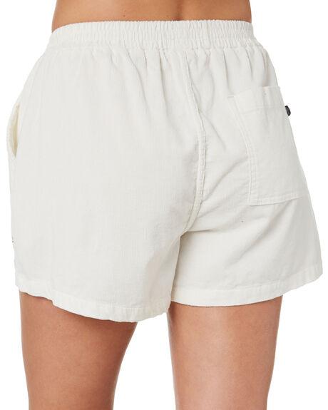 WHITE WOMENS CLOTHING STUSSY SHORTS - ST193603WHT
