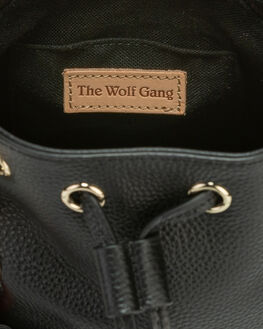 NOIR LEATHER WOMENS ACCESSORIES THE WOLF GANG BAGS + BACKPACKS - TWG20Q4A07NORL