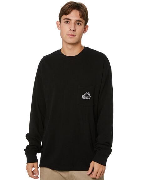 BLACK MENS CLOTHING XLARGE TEES - XL013001BLK