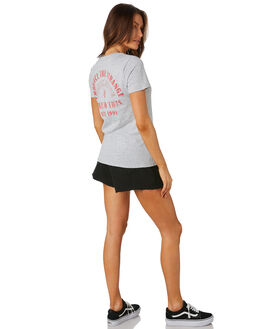 GREY MARLE WOMENS CLOTHING VOLCOM TEES - B3531977GRM