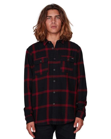 BLACK MENS CLOTHING BILLABONG SHIRTS - BB-9507219-BLK