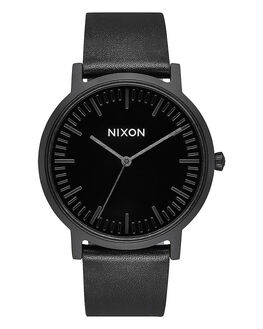 ALL BLACK BLACK MENS ACCESSORIES NIXON WATCHES - A1058-1147