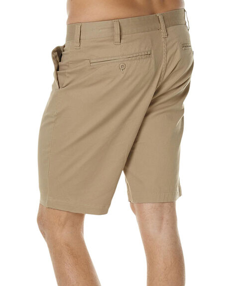 KHAKI MENS CLOTHING DC SHOES SHORTS - EDYWS03064TKY0