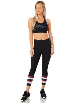 BLACK WOMENS CLOTHING THE UPSIDE ACTIVEWEAR - UPL1844BLK