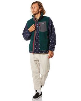 PIKI GREEN MENS CLOTHING PATAGONIA JACKETS - 23048PIGR