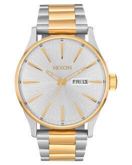 SILVER GOLD MENS ACCESSORIES NIXON WATCHES - A356-1921