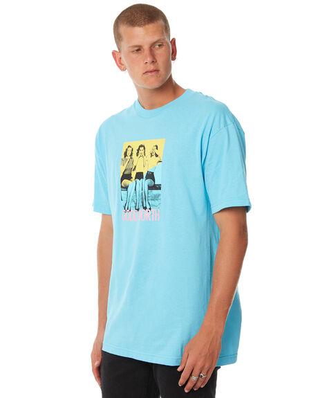 BLUE MENS CLOTHING GOOD WORTH TEES - THN1811BLUE