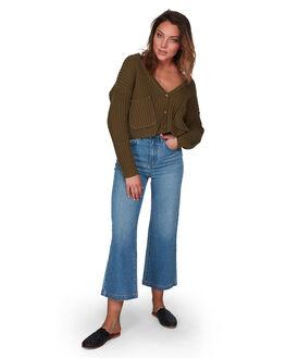 MILITARY WOMENS CLOTHING BILLABONG KNITS + CARDIGANS - BB-6508796-MIL