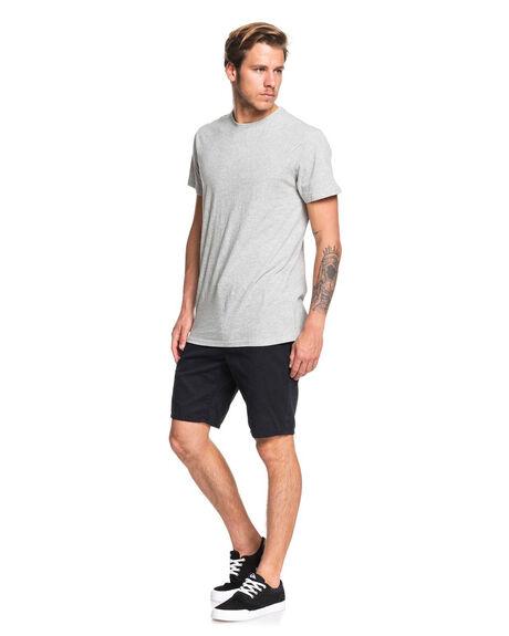 BLACK MENS CLOTHING QUIKSILVER SHORTS - EQYWS03468-KVJ0