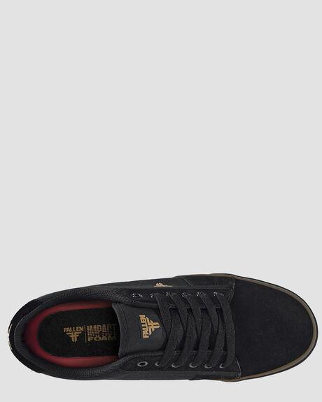 BLACK GUM MENS FOOTWEAR FALLEN SNEAKERS - FMG1ZA03