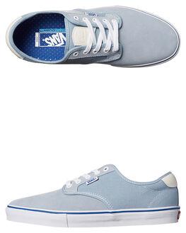 BLUE FOG WHITE MENS FOOTWEAR VANS SKATE SHOES - VN-A38CFN1RBLU