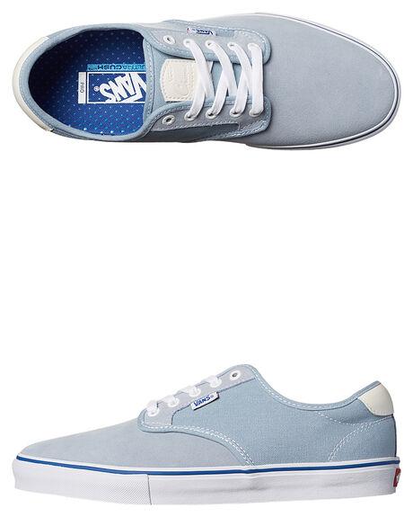 Vans Chima Ferguson Pro Suede Shoe - Blue Fog White  0699c08f46