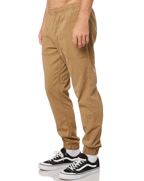 DARK KHAKI MENS CLOTHING RIP CURL PANTS - CPABG99660