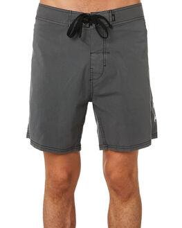 MERCH BLACK MENS CLOTHING THRILLS BOARDSHORTS - TH9-312MBMBLK