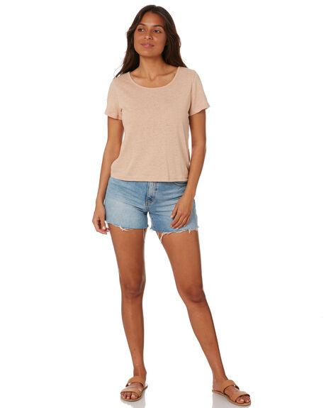 BARK WOMENS CLOTHING RUSTY TEES - TTL1123BR1