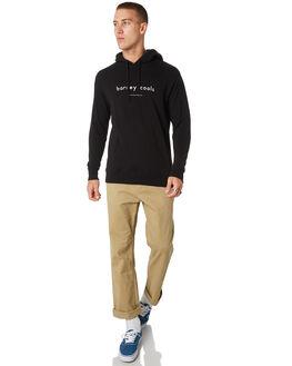 BLACK MENS CLOTHING BARNEY COOLS JUMPERS - 450-CC1BLK