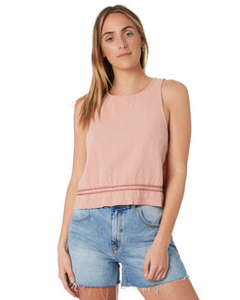 SHRIMP WOMENS CLOTHING RUSTY FASHION TOPS - WSL0638SIP