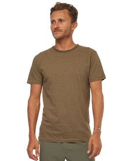 VINTAGE OLIVE MENS CLOTHING RHYTHM TEES - JAN18M-CT03OLI