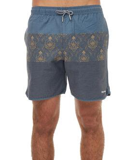 NAVY MENS CLOTHING RHYTHM BOARDSHORTS - JAN18M-JM07NAV