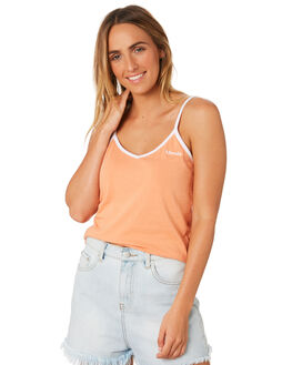 COPPER TAN WOMENS CLOTHING AFENDS SINGLETS - W184096CTN