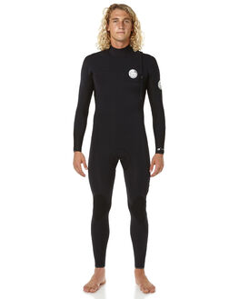 BLACK SURF WETSUITS RIP CURL STEAMERS - WSM6RF90