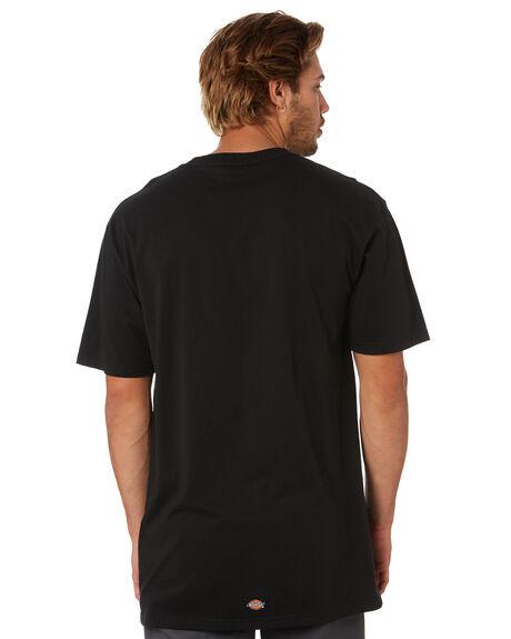 BLACK MENS CLOTHING DICKIES TEES - K1200102BK