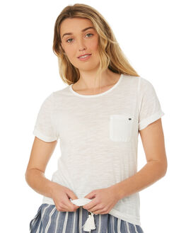 WHITE OUT WOMENS CLOTHING O'NEILL TEES - 4721105-WHTO