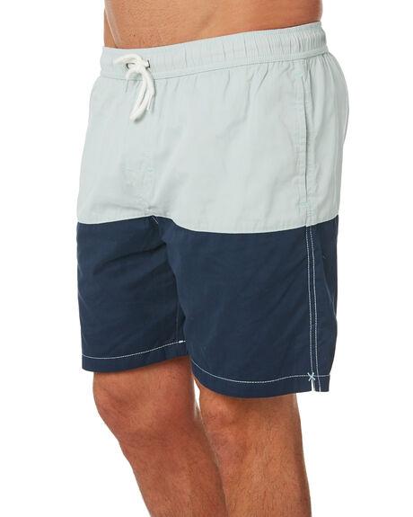 NAVY SLATE MENS CLOTHING SWELL BOARDSHORTS - S5184251NVSLT