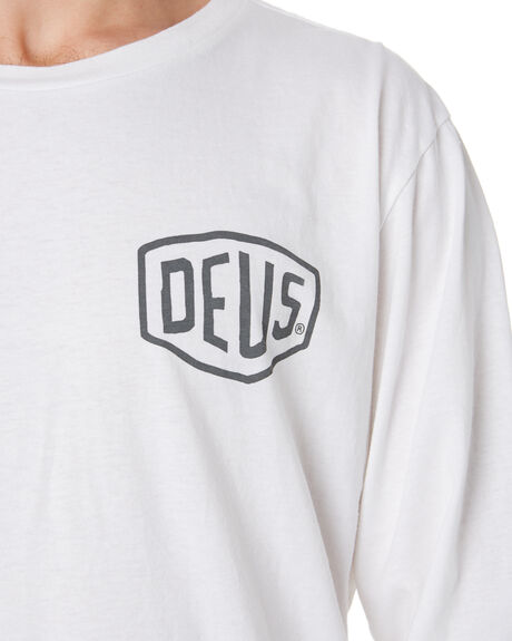 WHITE MENS CLOTHING DEUS EX MACHINA TEES - DMA61831CWHT