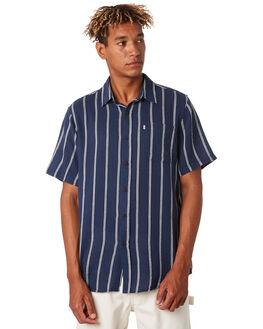 NAVY MENS CLOTHING KATIN SHIRTS - WVALA05NVY