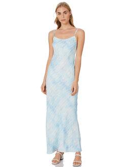 BLUE WOMENS CLOTHING TIGERLILY DRESSES - T305468BLU