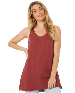 BURGUNDY OUTLET WOMENS WILDE WILLOW FASHION TOPS - K345BUR