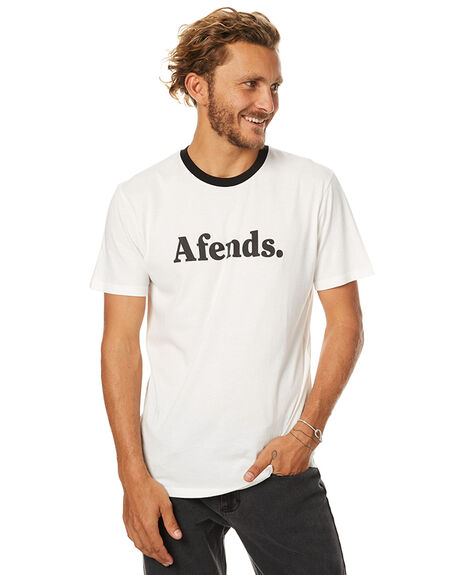 NATURAL MENS CLOTHING AFENDS TEES - 01-07-024NAT