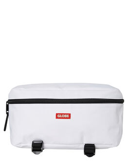 WHITE MENS ACCESSORIES GLOBE BAGS + BACKPACKS - GB71839019WHT