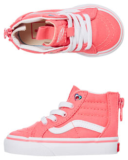 STRAWBERRY PINK KIDS GIRLS VANS FOOTWEAR - VNA32R3VIISPINK