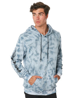 TIE DYE BLUE MENS CLOTHING THE PEOPLE VS JUMPERS - W19028TDBLU