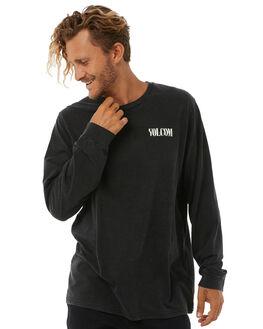 BLACK MENS CLOTHING VOLCOM TEES - A3631776BLK