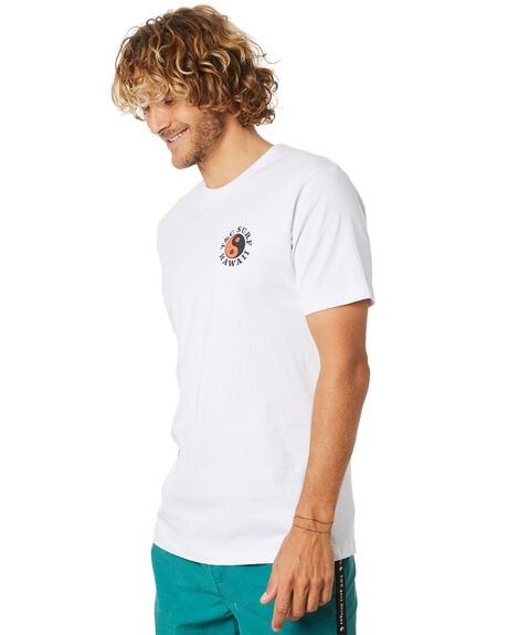 WHITE MENS CLOTHING TOWN AND COUNTRY TEES - TTE713AWHT