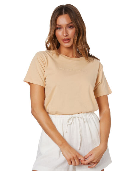 APRICOT WOMENS CLOTHING NUDE LUCY TEES - NU24111APT